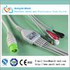 5 leadwire fukuda ecg cable for 7100,7200