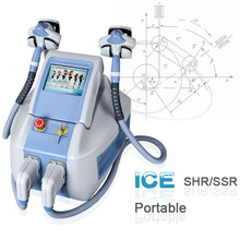 new technology ssr+ shr permanent hair removal