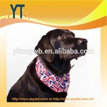 Fashional Cheap UK Style Printed Dog Triangle Bandana/Pet Bandana