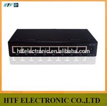 full inspection 8p 10/100/1000M desktop steel case fiber optic ethernet Network Switch d link internet power