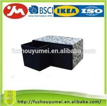 Divided storage box storage drawer with handles