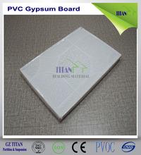 Gypsum PVC Ceiling Tile 60x60 in Guangzhou 8mm