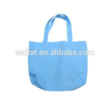 Sky-Blue Non-Woven Packaging Shopping Bag