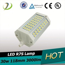 High power samsung5630smd 118mm 138mm 30w led r7s double ended linear 3000lm 5360 smd led light bulb