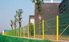 Hot sale decorative concrete garden fences/metal temporary fence panels