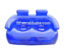 most popular outdoor cheap couple seat clear pvc blue giant inflatable sofa for sale