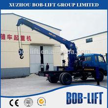 Telescopic used cranes 10ton for sale in dubai made in China SQ10SA3