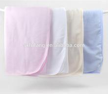 Fashion color super soft Baby blanket two side brushed Polar Fleece Blanket cheap in bulk