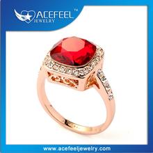 New Design Fashion Imbue Ruby Italina Diamond Ring 115185
