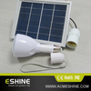 1.7W solar panel solar home system solar led bulb with mobile charger USB charged by sunlight