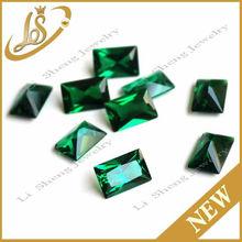 wuzhou factory price nano stone AAA quality round green nano emerald