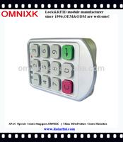 PW206Z high-end digital numeric keypad lock for fitness