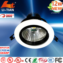 Hot sale cob led downlight, Ceiling Downlights high power square led downlight 12w