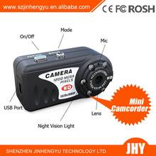 Mini Q5 IR night vision 1080P Hidden DV DVR Digital Camera Camcorder home Video hidden Cam