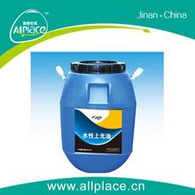 High gloss Common waterborne varnish, styrene - acrylic copolymer emulsion,common waterborne varnish