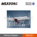 cesta de metal para o armário de cozinha