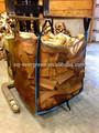 Ventilado saco de lenha, 500-750kg embalagem lenha.