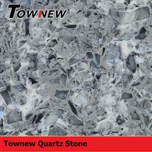 Classical granite texture heat-resistance polished multicolor quartz stone