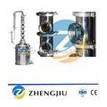 Pote ainda máquina de destilação/cobre torre de destilação/destilação ket por equipamentos de destilaria