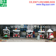 used commercial children electric train, new design electric christmas train