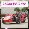 Cheap three wheel atv 250cc with EEC