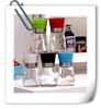 glass grinder bottles/decorative salt and pepper shakers