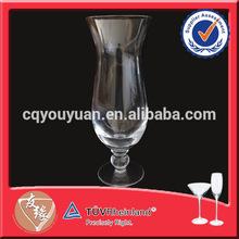 High grade mouth blown transparent glass mug /juice glass