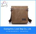 2014 buona qualità sacchetto di tela fornitore porcellana messenger bag con cerniera borsa di tela alla moda personalizzati
