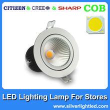 One COB Chip aluminum LED Downlight 15W
