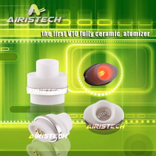 China Wholesale Unique Micro Atomizer Airistech Special V10 fully ceramic Coil W/rod Atomizer Crazy needed in US