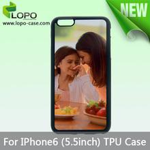 Promotion cell phone case 2d sublimation phone case for iphone 6 plus