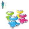 small gift 3 head mini massager,electronic vibrating mini massager