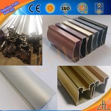 Hot! Quality 6063 aluminium alloy profile for home furnishing, aluminium door profiles / decorative aluminium wardrobe extrusion