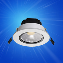 Aluminum Warm White LED down light 4W and 6W