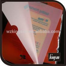A4 L shape pp file folder