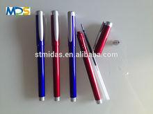 gel ink pen, plastic pen for promotion, free sample pen MDS-G004