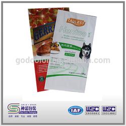 Dog chew bone plastic packaging bag/Pet food bag