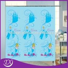 Fairy Princess Polyester Fabric Shower Curtain
