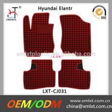 4 pcs custom red car carpet for hyundai Elantr cars