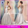 Elegant M1308 Mermaid Skirt Sleveless Beading Fitted Suzhou Wedding Dress