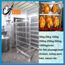 electric meat smoker machine for fish sausage chicken turkey pork bacon