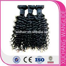 20% off deep curl human hair cheap high quality 100% human remy kbl hair