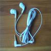 Stereo bassed flat wire in-ear 3.5mm earbud earphone headphone