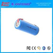 Sanyo 18650 li ion battery 3.7v 2600mah