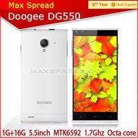 "5.5"" doogee dg550 dual sim 1GB 16GB octa core 13mp smartphone cheap original mobile phones"