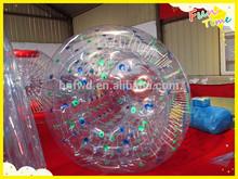 China Fun-World Manufacturer TPU ball inflatable zorb balls , PVC ball