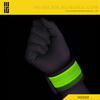 Cool design sports LED light cheap customized fabric wristbands