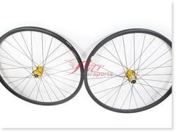 2014 Hot farsports mtb 29 inch carbon wheels 25mm 30mm, build with Sapim spokes Novatec hub