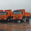 SINOTRUCK HOWO manual transmission type new tipper trucks