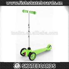 2014 Christmas gift New Skateboard 3 big wheel kick scooter kick scooter adult